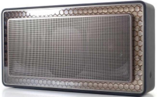 B&W T7 Portable Wireless Bluetooth Speaker Gold