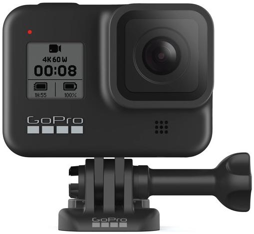GoPro Hero 8 Black bundle(2xBatt./1xShorty/1x32gb)