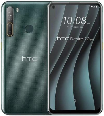 HTC Desire 20 Pro Dual Sim 128GB Green (6GB RAM)