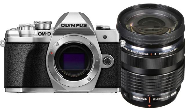 Olympus OM-D E-M10 MK III Kit (12-40mm f2.8)Silver