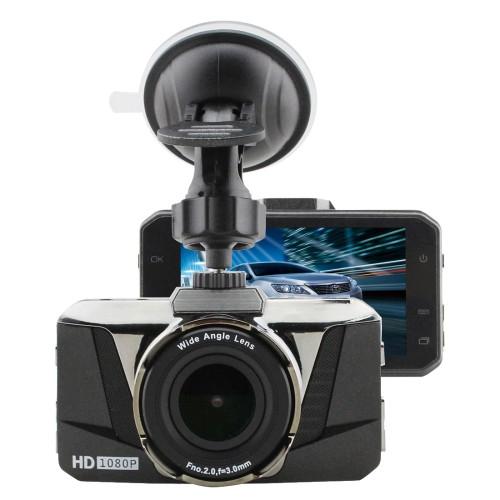 Car DVR - GT2000ZL HD 1080P 3.0 inch Screen Display (black)