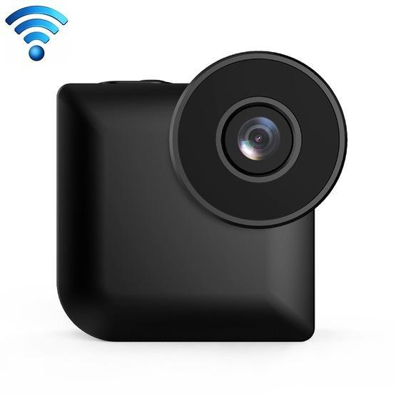 CAMSOY C3 HD 1280 x 720P 140 Degree Wide Angle Wireless WiFi Wearable Intelligent Surveillance Camera (Black)