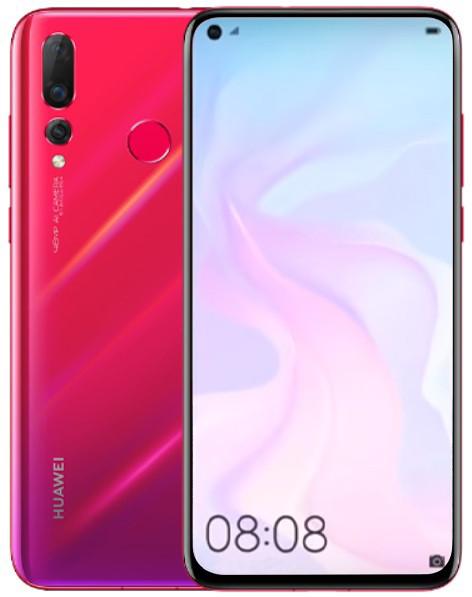 Huawei Nova 4 48MP Dual Sim 128GB Red (8GB RAM)