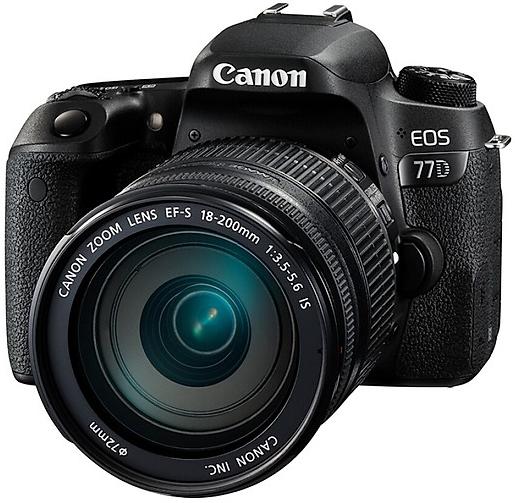 Canon EOS 77D Kit (18-200)