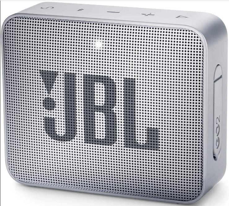 JBL GO 2 Portable Wireless Speaker (Grey)
