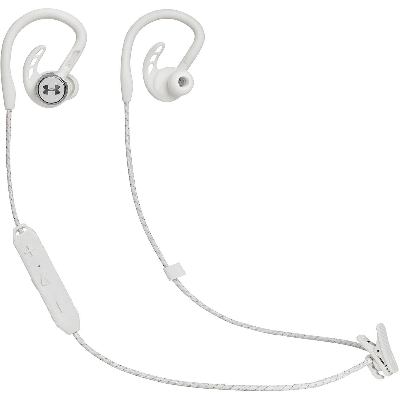 JBL UA Sport Wireless Pivot Headphones (White)