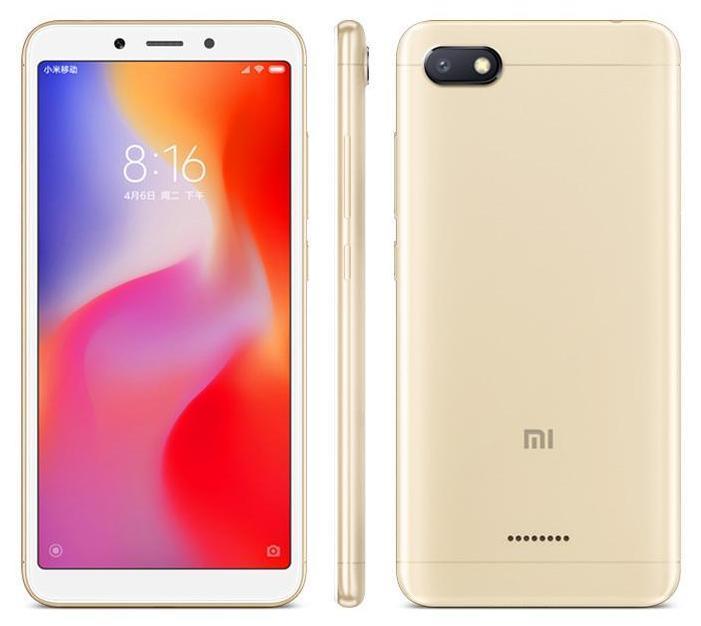 Xiaomi Redmi 6A Dual Sim 32GB Gold (2GB RAM)