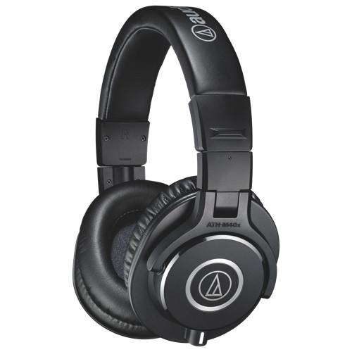 Audio-Technica ATH-M40x Over Ear Headphones Black