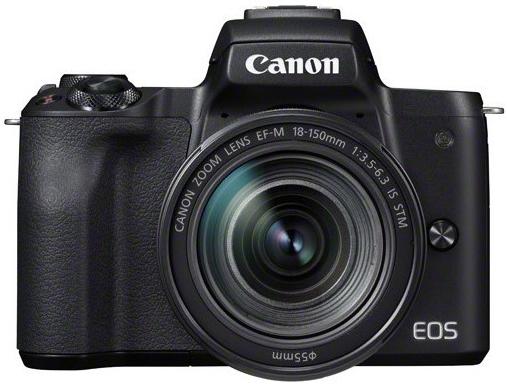 Canon EOS M50 Kit (18-150 F3.5-6.3) Black