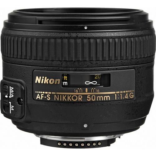 Nikon AF-S Nikkor 50mm F1.4G (HK)