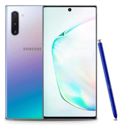 Samsung Galaxy Note 10 Dual Sim N9700 256GB Aura Glow (8GB RAM)