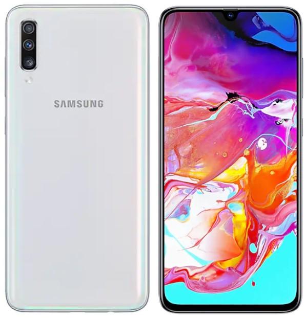 Samsung Galaxy A70 Dual A7050 128GB White (6GB RAM)