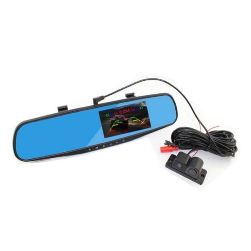 Car DVR - PZ452 4.3 inch LCD Rear View Mirror