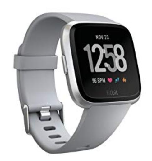 Fitbit Versa Gray, Silver Aluminium,CJK