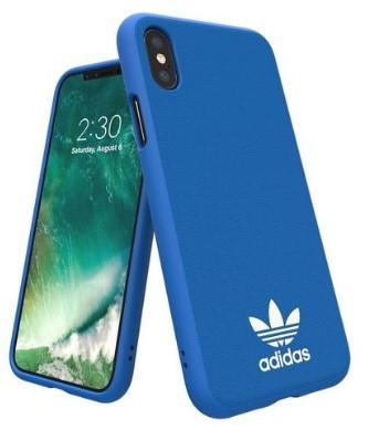 Adidas Iphone XS (2018) Moulded Back Phone Case Bluebird Logo