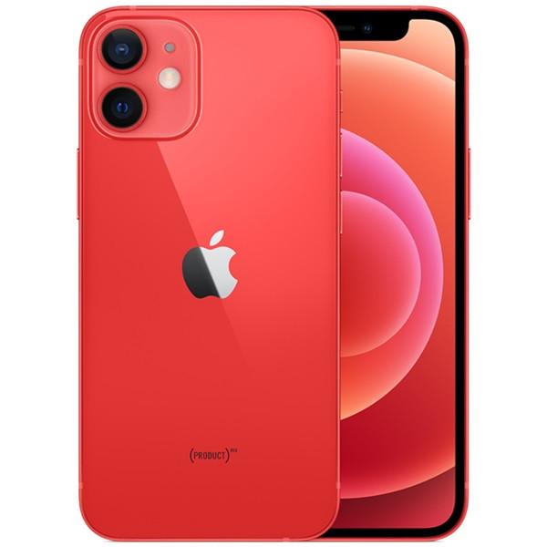 Apple iPhone 12 mini 5G A2399 128GB Red (eSIM) + FREE iPhone 12 mini 9H 2.5D Tempered Glass Screen Protector