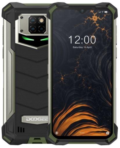 DOOGEE S88 Plus Dual Sim Rugged Phone 128GB Army Green (8GB RAM)