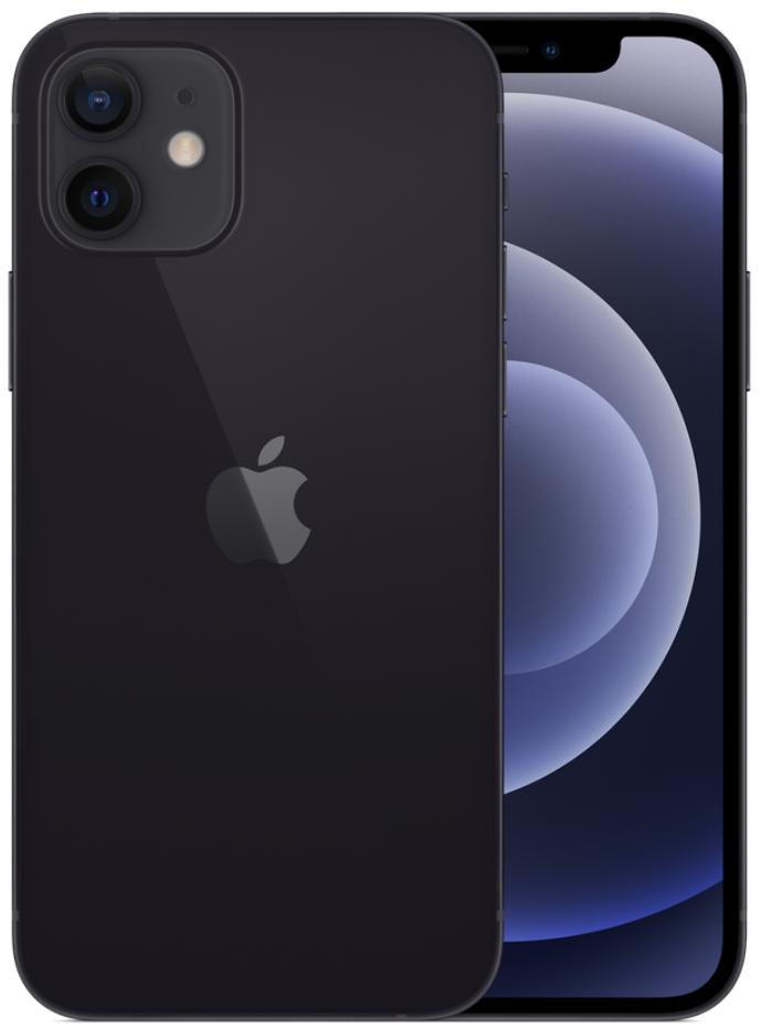 Apple iPhone 12 5G 128GB Black (eSIM)