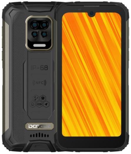 DOOGEE S59 Pro Dual Sim Rugged Phone 128GB Black (4GB RAM)