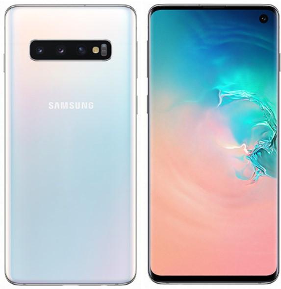 Samsung Galaxy S10 Dual Sim G9730 128GB Prism White