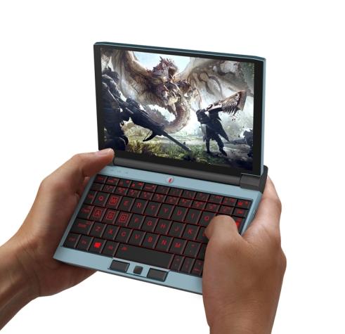 "One-GX Wifi 7.0"" Gaming Laptop 256GB Baby Blue (8GB RAM)"