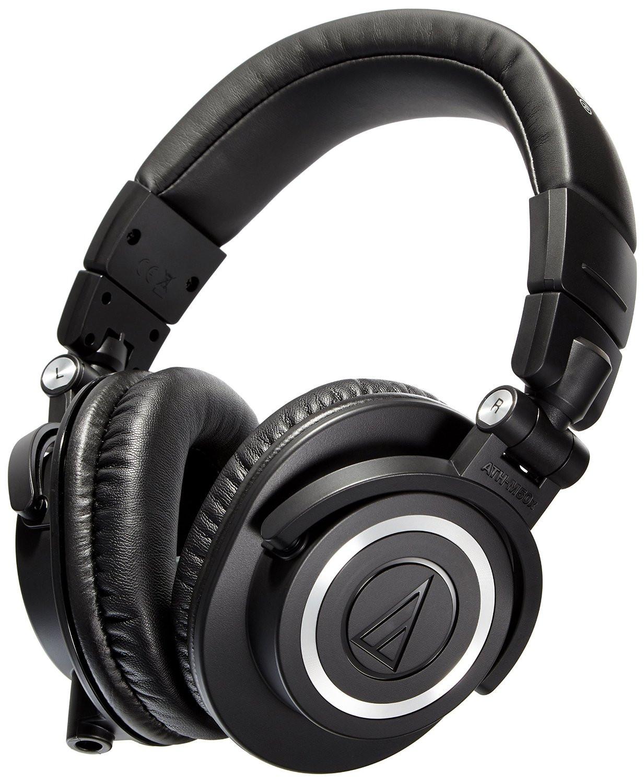 Audio-Technica ATH-M50x Over Ear Headphones Black