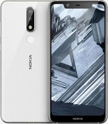 Nokia 5.1 Plus Dual Sim TA-1105 32GB White (3GB RAM)
