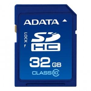 A Data 32GB SDHC (Class 10)