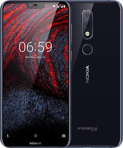 Nokia 6.1 Plus Dual Sim TA-1116 64GB Blue