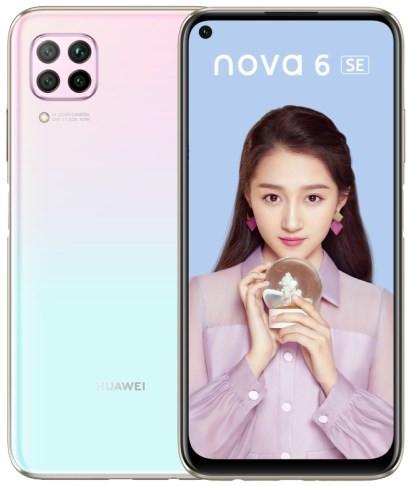Huawei Nova 6 SE Dual Sim JNY-AL10 128GB Pink (8GB RAM)