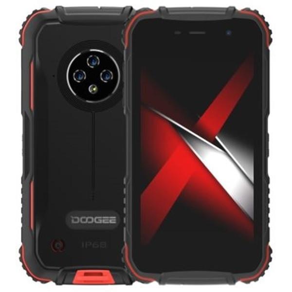 DOOGEE S35 Pro Rugged Phone Dual Sim 32GB Red (4GB RAM)