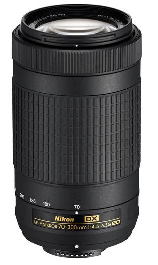 Nikon AF-P DX NIKKOR 70-300mm F4.5-6.3G ED(W.Box)
