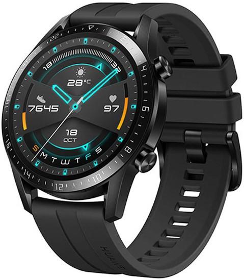 Huawei Watch GT 2 46mm Matte Black - Sport Ver (CN) (SpO2)