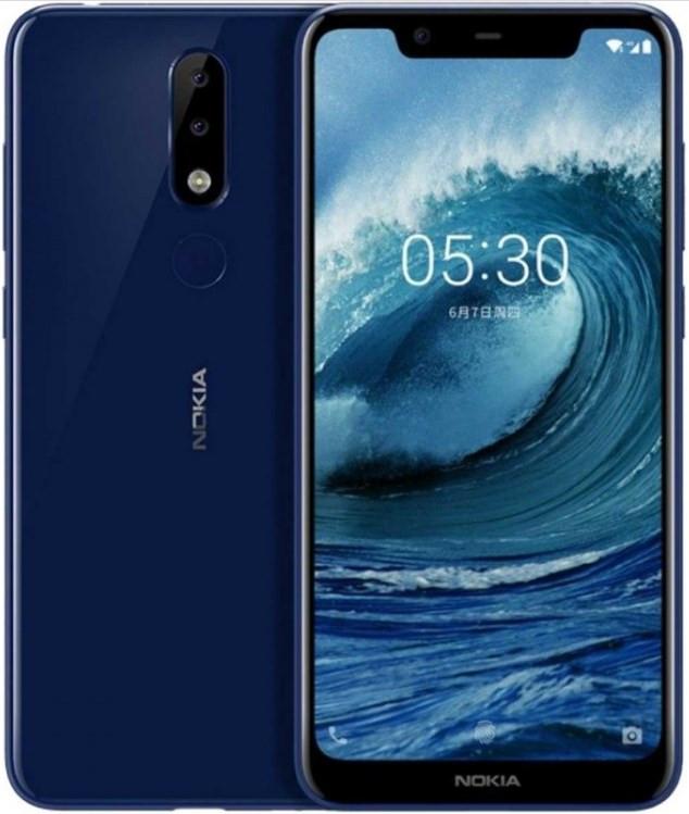 Nokia 5.1 Plus Dual Sim TA-1105 4G 32GB Blue (3GB RAM)