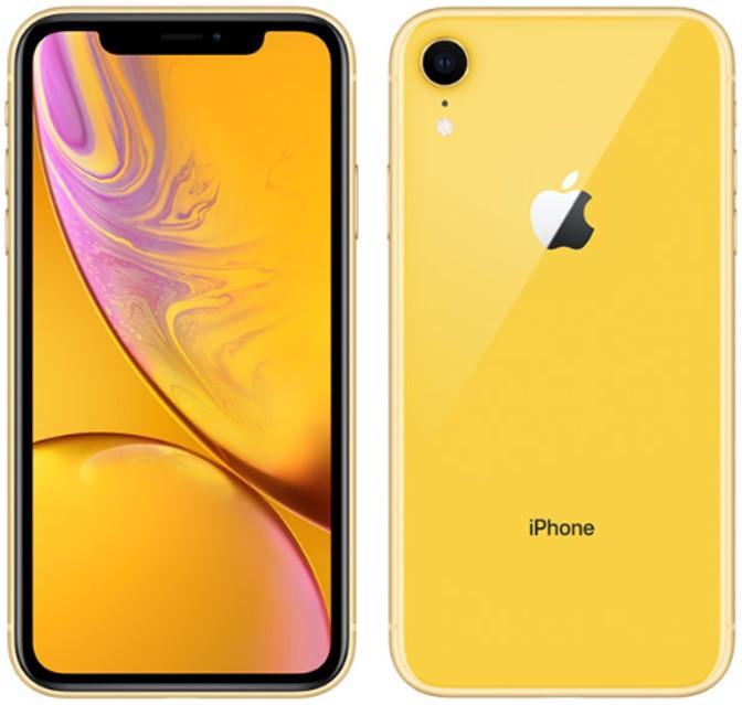 Apple iPhone XR A2108 Dual Sim 64GB Yellow