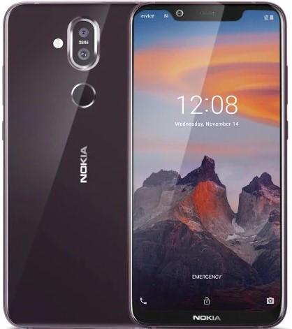 Nokia 8.1 Dual Sim Ta-1119 64GB Iron Steel
