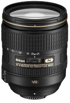 Nikon AF-S NIKKOR 24-120mm F4 G ED VR (white box)