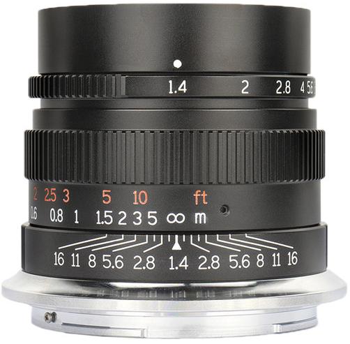7Artisans 35mm f1.4 Lens (Nikon Z)(A114B-Z) Black