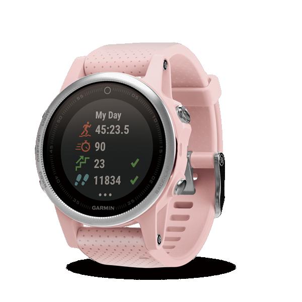 Garmin Fenix 5S Watch (Sapphire Pink)