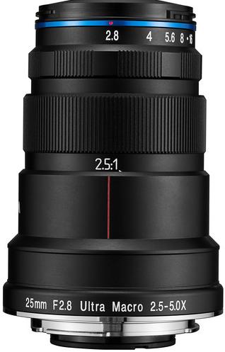 LAOWA 25mm F/2.8 2.5-5X Ultra Macro (Sony FE)