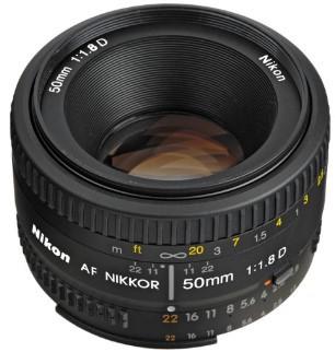 Nikon AF Nikkor 50mm F1.8D (HK)