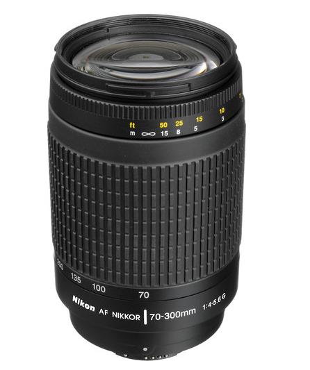 Nikon AF Zoom-Nikkor 70-300mm F4-5.6G (Black)(HK)