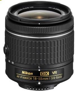 Nikon AF-P DX NIKKOR 18-55mm F3.5-5.6G VR (White box)