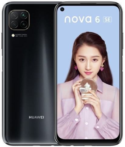 Huawei Nova 6 SE Dual Sim JNY-AL10 128GB Black (8GB RAM)