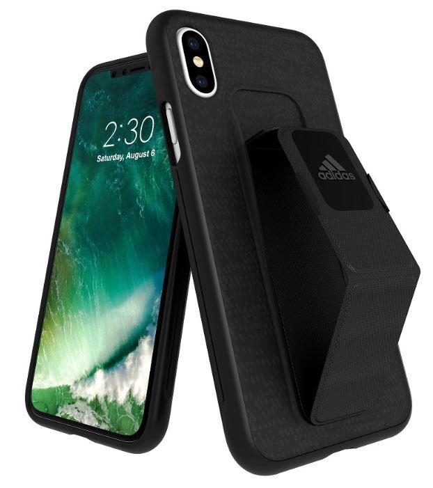 Adidas Iphone X Grip Back Phone Case Black
