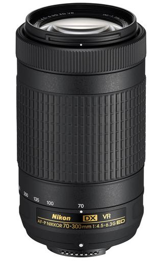 Nikon AF-P DX NIKKOR 70-300mm F4.5-6.3G ED VR(White box)