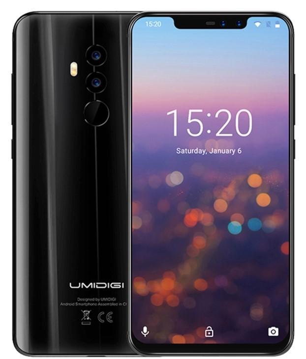 Umidigi Z2 Dual Sim 64GB Black (6GB RAM)