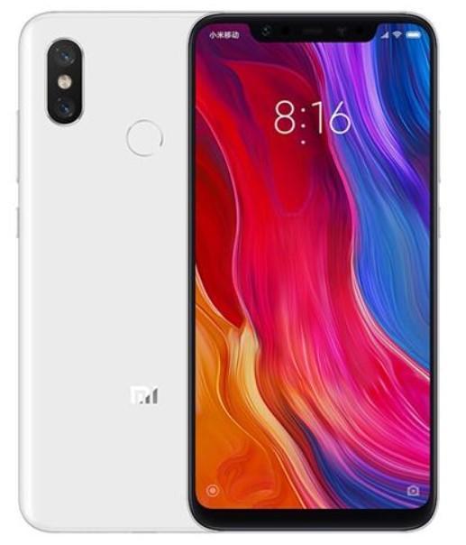 Xiaomi Mi 8 Dual Sim 64GB White (6GB RAM)