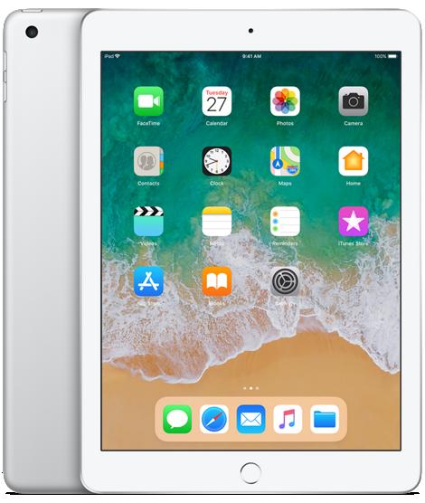 Apple iPad 9.7 2018 4G 128GB Silver