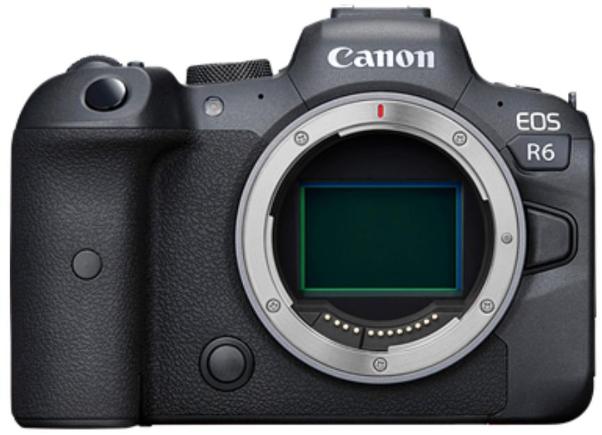 Canon EOS R6 Body (kit box)(no adapter)
